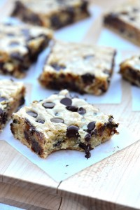 chunky monkey blondies