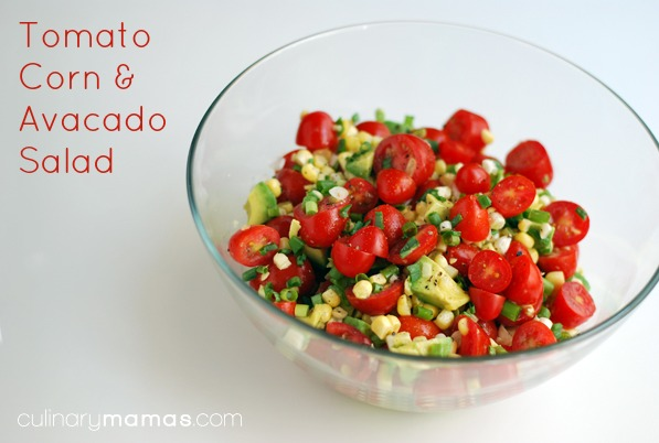 this tomato corn and avocado salad is one of my favorite summer salads ...