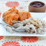 crockpot pork and sweet potatoes