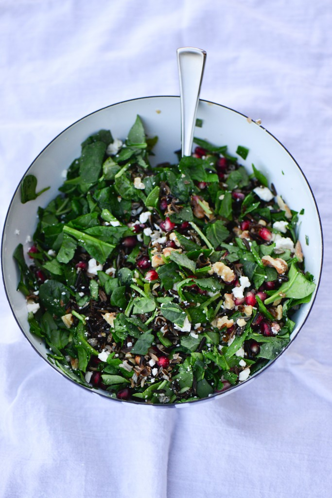 pomegranate wild rice salad (2 of 3)