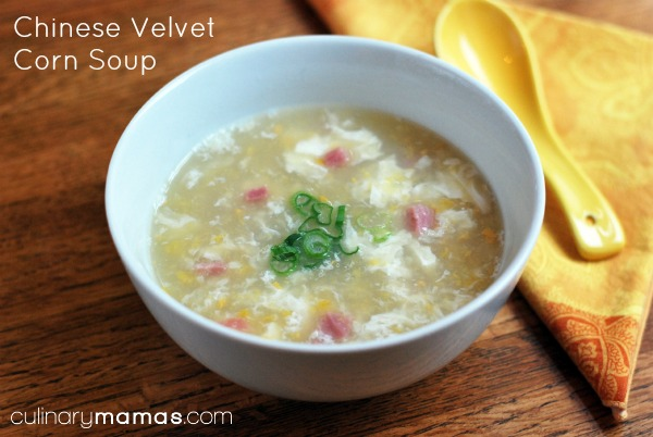 Chinese Velvet Corn Soup