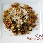 Pesto Chicken Quinoa