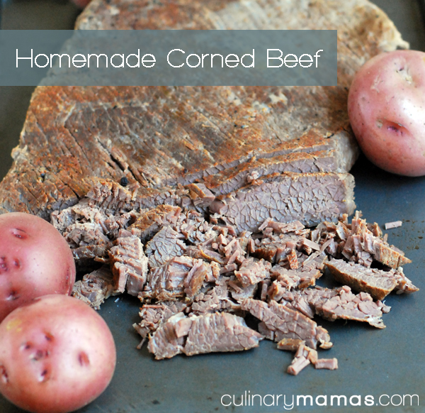 Homemade Corned Beef Recipe - Culinary Mamas