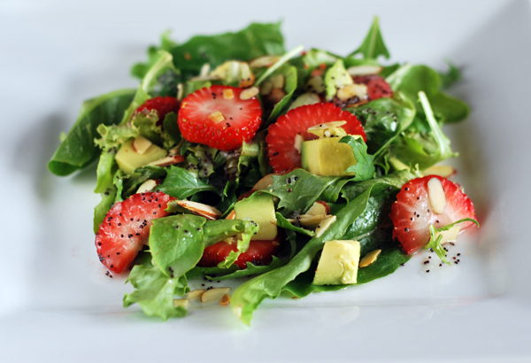 Poppy Seed Dressing Salad