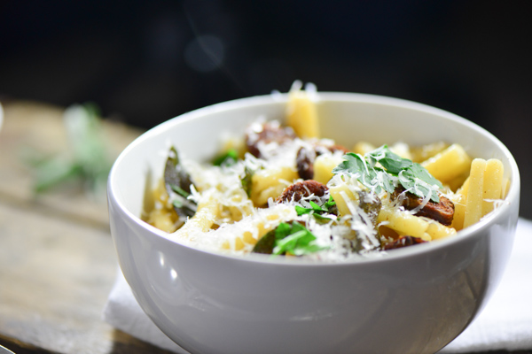 Sausage sage butter pasta (1 of 4)