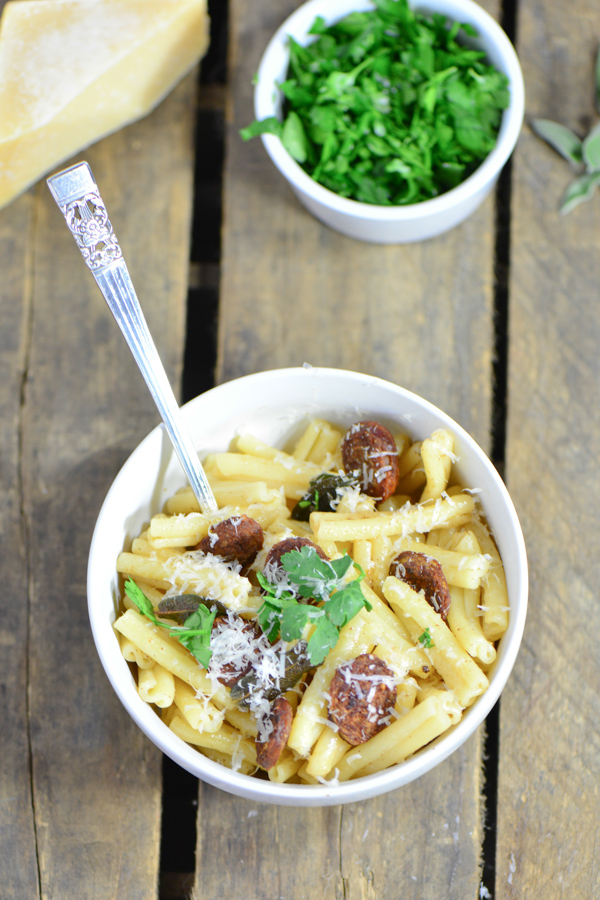 Sausage sage butter pasta (4 of 4)