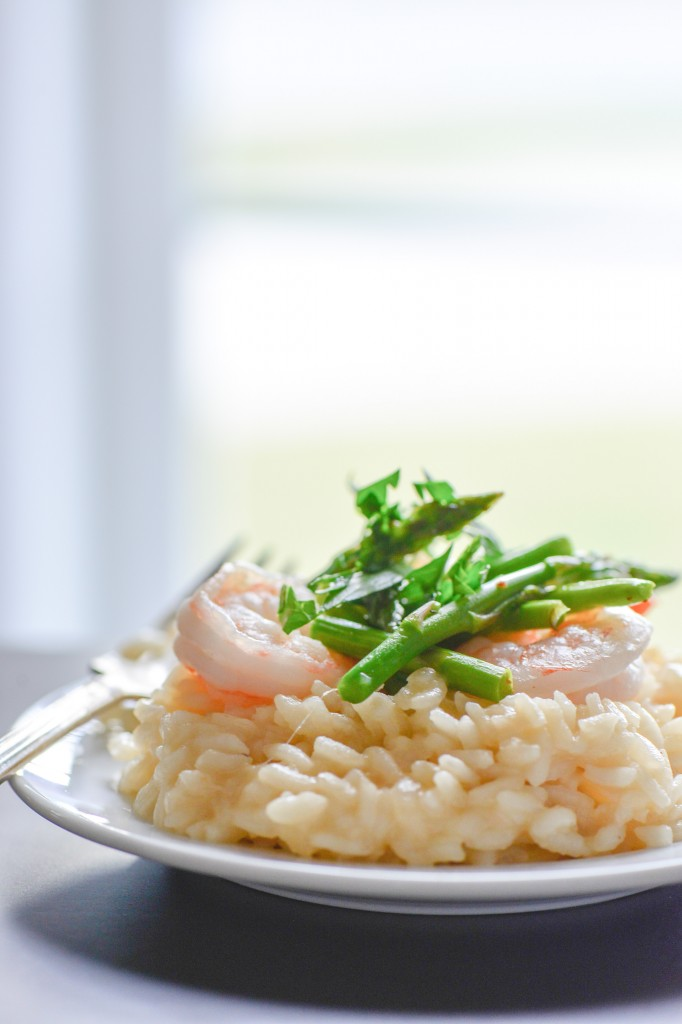 Shrimp and Asparagus Risotto (1 of 6)