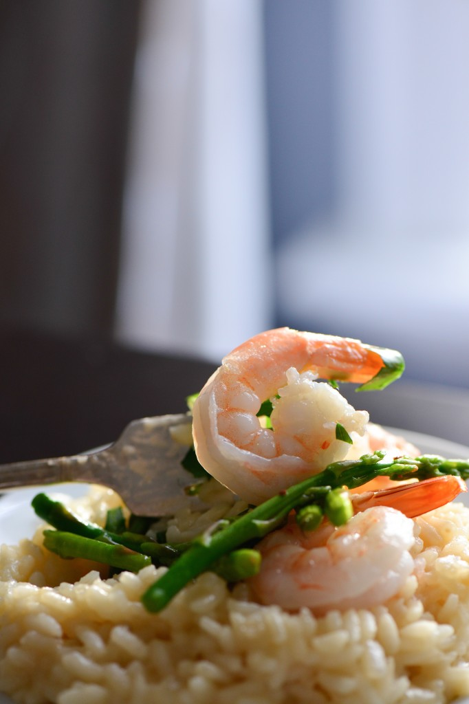 Shrimp and Asparagus Risotto (2 of 6)