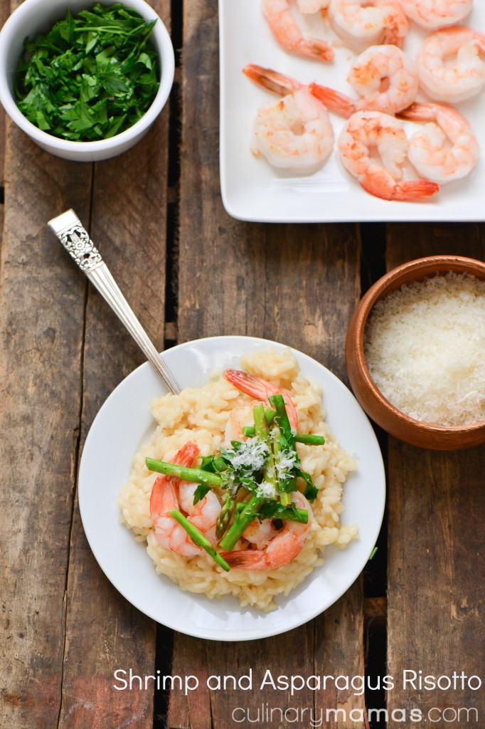 Shrimp and Asparagus Risotto pinterest
