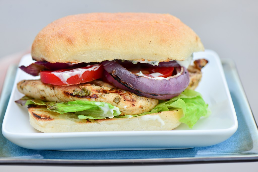 Chicken and Mint Summer Sandwich-2087