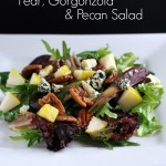 Pear, Gorgonzola & Pecan Salad