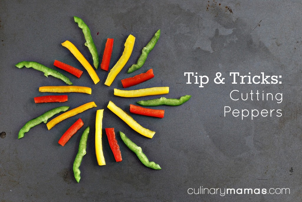 Tips & Tricks: Cutting Peppers