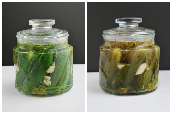 Polish Pickles Before & After