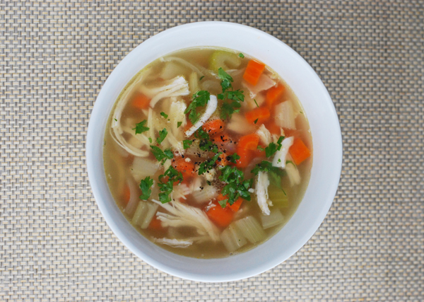 Rotissarie Chicken Soup