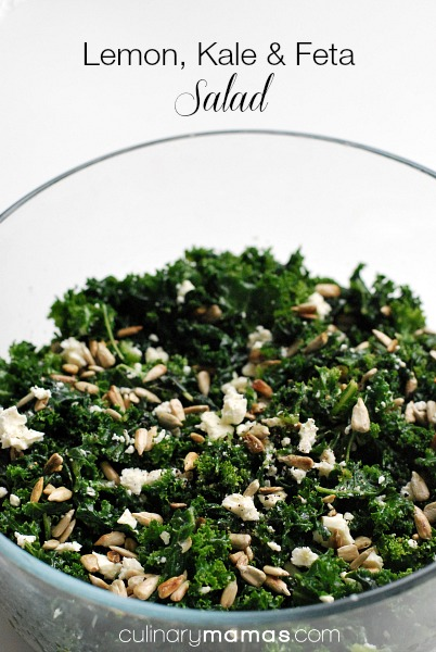 Lemon, Kale and Feta Salad