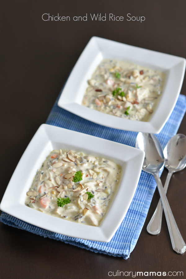 Chicken and Wild Rice Soup2pinterest